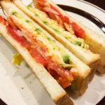 海老とアボカドと玉子のトーストサンドを食べてみた感想
