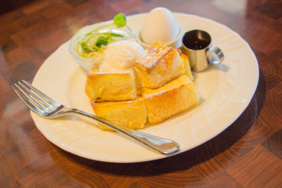 星乃珈琲 モーニングのおすすめメニュー「フレンチトーストモーニング」
