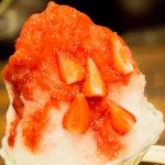 かき氷・苺と濃厚ミルクを食べてみた感想