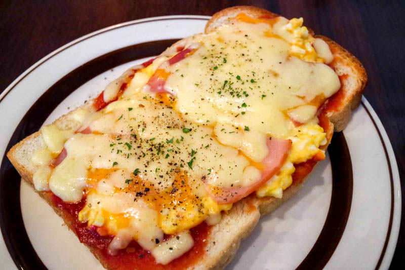 星乃珈琲のハムチーズトーストモーニングを食べてみた感想