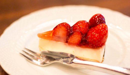 苺のレアチーズケーキを食べてみた感想