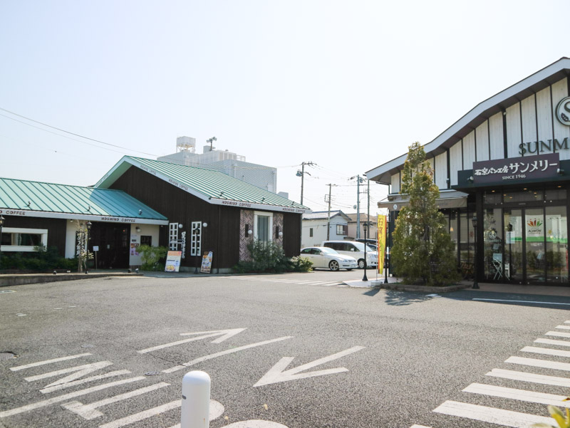 星乃珈琲の本店・1号店(蕨店)の敷地内には系列店の「石窯パン工房サンメリー」も